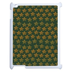 Stars Pattern Background Apple iPad 2 Case (White)