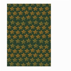Stars Pattern Background Large Garden Flag (Two Sides)