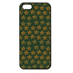 Stars Pattern Background Apple Iphone 5 Seamless Case (black)