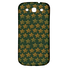 Stars Pattern Background Samsung Galaxy S3 S III Classic Hardshell Back Case