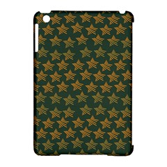 Stars Pattern Background Apple iPad Mini Hardshell Case (Compatible with Smart Cover)