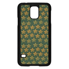 Stars Pattern Background Samsung Galaxy S5 Case (black)
