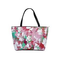 Confetti Hearts Digital Love Heart Background Pattern Shoulder Handbags