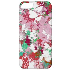 Confetti Hearts Digital Love Heart Background Pattern Apple Iphone 5 Classic Hardshell Case