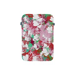 Confetti Hearts Digital Love Heart Background Pattern Apple Ipad Mini Protective Soft Cases