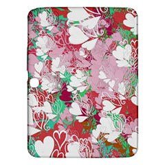 Confetti Hearts Digital Love Heart Background Pattern Samsung Galaxy Tab 3 (10 1 ) P5200 Hardshell Case