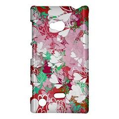 Confetti Hearts Digital Love Heart Background Pattern Nokia Lumia 720