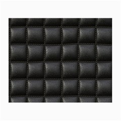 Black Cell Leather Retro Car Seat Textures Small Glasses Cloth