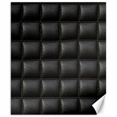 Black Cell Leather Retro Car Seat Textures Canvas 20  X 24