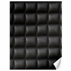Black Cell Leather Retro Car Seat Textures Canvas 36  x 48