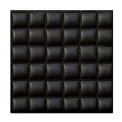 Black Cell Leather Retro Car Seat Textures Face Towel