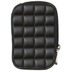 Black Cell Leather Retro Car Seat Textures Compact Camera Cases