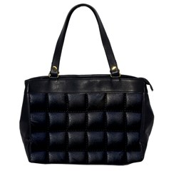 Black Cell Leather Retro Car Seat Textures Office Handbags