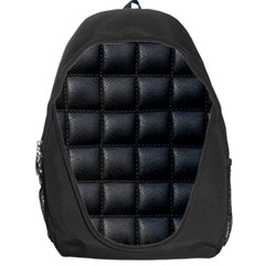 Black Cell Leather Retro Car Seat Textures Backpack Bag