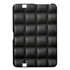 Black Cell Leather Retro Car Seat Textures Kindle Fire Hd 8 9