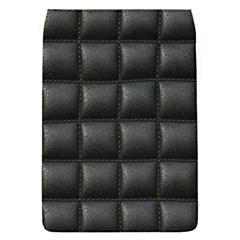 Black Cell Leather Retro Car Seat Textures Flap Covers (s)