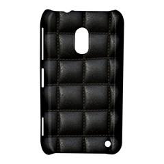 Black Cell Leather Retro Car Seat Textures Nokia Lumia 620