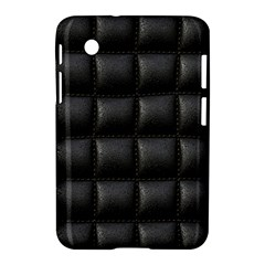 Black Cell Leather Retro Car Seat Textures Samsung Galaxy Tab 2 (7 ) P3100 Hardshell Case