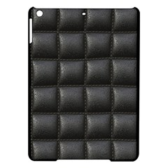 Black Cell Leather Retro Car Seat Textures iPad Air Hardshell Cases