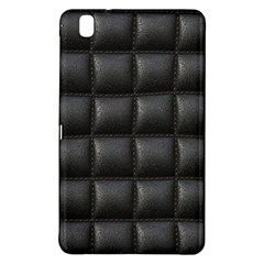 Black Cell Leather Retro Car Seat Textures Samsung Galaxy Tab Pro 8.4 Hardshell Case