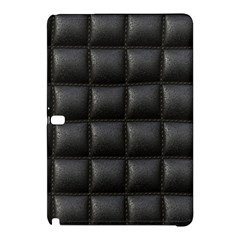 Black Cell Leather Retro Car Seat Textures Samsung Galaxy Tab Pro 12.2 Hardshell Case