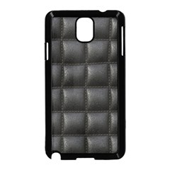 Black Cell Leather Retro Car Seat Textures Samsung Galaxy Note 3 Neo Hardshell Case (black)