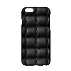 Black Cell Leather Retro Car Seat Textures Apple Iphone 6/6s Hardshell Case