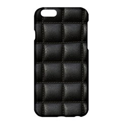 Black Cell Leather Retro Car Seat Textures Apple Iphone 6 Plus/6s Plus Hardshell Case