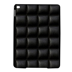 Black Cell Leather Retro Car Seat Textures Ipad Air 2 Hardshell Cases