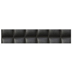 Black Cell Leather Retro Car Seat Textures Flano Scarf (small)