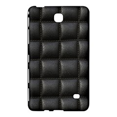 Black Cell Leather Retro Car Seat Textures Samsung Galaxy Tab 4 (7 ) Hardshell Case