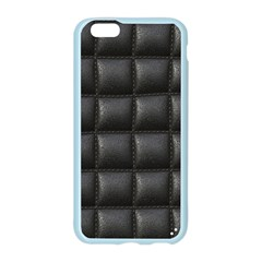Black Cell Leather Retro Car Seat Textures Apple Seamless iPhone 6/6S Case (Color)
