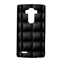 Black Cell Leather Retro Car Seat Textures Lg G4 Hardshell Case