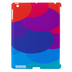 Circles Colorful Balloon Circle Purple Blue Red Orange Apple iPad 3/4 Hardshell Case (Compatible with Smart Cover)