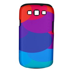 Circles Colorful Balloon Circle Purple Blue Red Orange Samsung Galaxy S III Classic Hardshell Case (PC+Silicone)