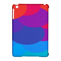 Circles Colorful Balloon Circle Purple Blue Red Orange Apple iPad Mini Hardshell Case (Compatible with Smart Cover)