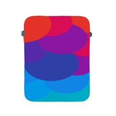 Circles Colorful Balloon Circle Purple Blue Red Orange Apple iPad 2/3/4 Protective Soft Cases