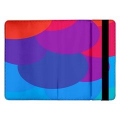 Circles Colorful Balloon Circle Purple Blue Red Orange Samsung Galaxy Tab Pro 12.2  Flip Case