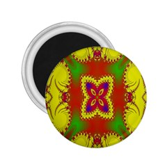 Digital Color Ornament 2.25  Magnets