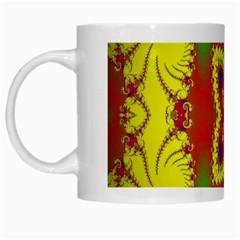 Digital Color Ornament White Mugs