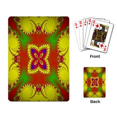 Digital Color Ornament Playing Card