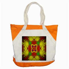 Digital Color Ornament Accent Tote Bag