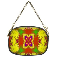 Digital Color Ornament Chain Purses (One Side)