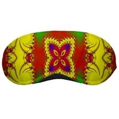 Digital Color Ornament Sleeping Masks