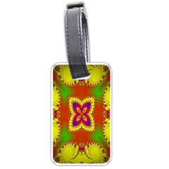 Digital Color Ornament Luggage Tags (Two Sides)
