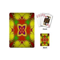 Digital Color Ornament Playing Cards (Mini)
