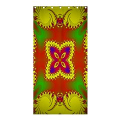 Digital Color Ornament Shower Curtain 36  X 72  (stall)