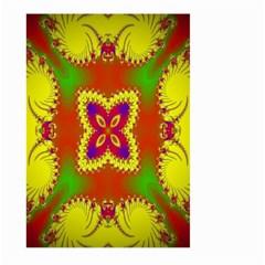 Digital Color Ornament Large Garden Flag (two Sides)