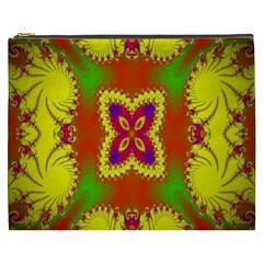 Digital Color Ornament Cosmetic Bag (XXXL)