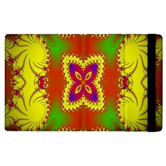Digital Color Ornament Apple iPad 3/4 Flip Case